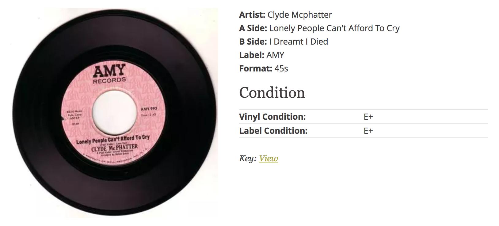 John Manship's Favourite Records | Rare Soul Vinyl