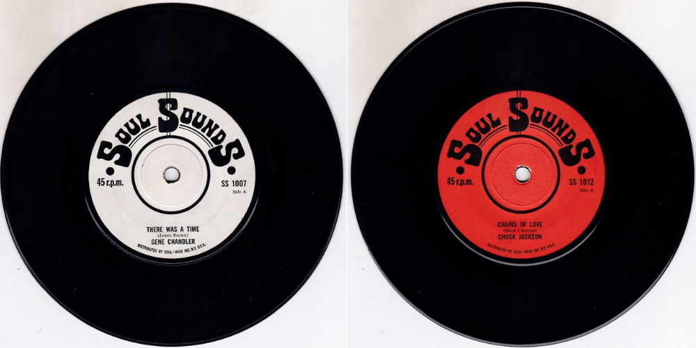 NEW In The Auction: Full Set of UK Soul Sound 45's - John