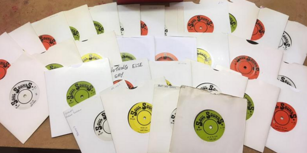 Soul Sounds 45's Complete Set | Rare Soulman